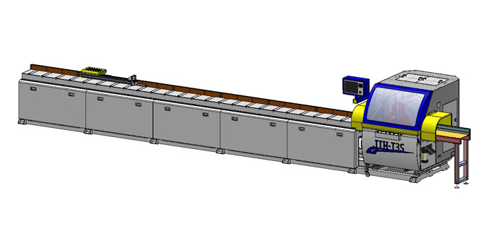 AUTO T3SW 45°~135° Automatic Tilting Sawing Machine(Single Head)