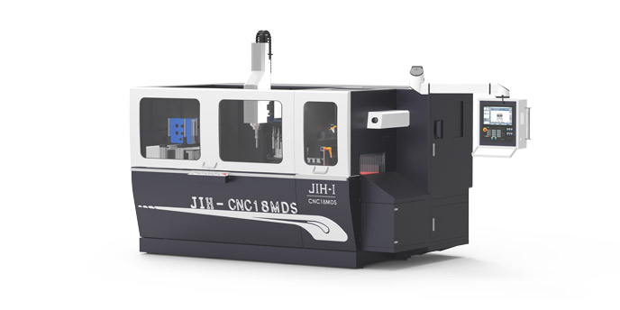 JIH-CNC18MDS - CNC Milling, Drilling, Tapping and Sawing Composite Machine