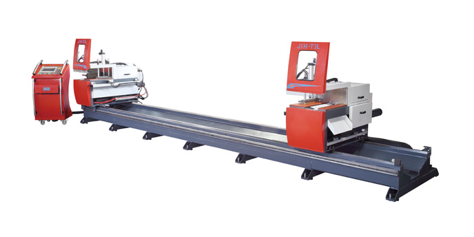 JIH-T3L 45° Automatic Double Head Sawing Machine (Horizontal Cutting)