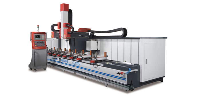 JIH-CNC S Type (3 Axes And 4Axes) CNC Machining Center