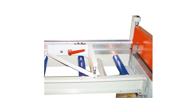 Outfeed Roller Conveyor (Common Scale With Stop)