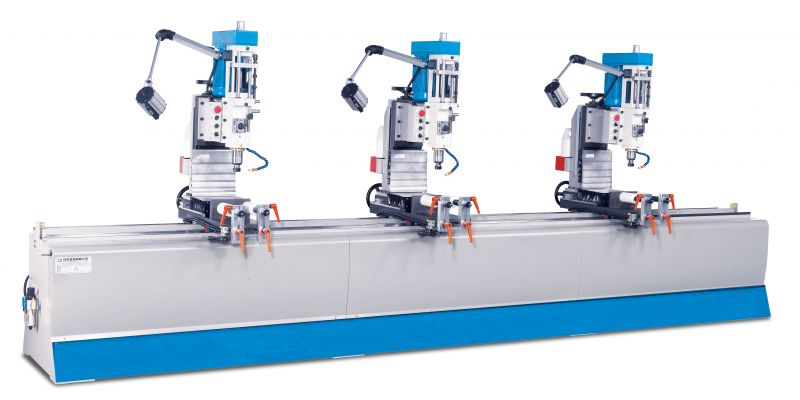JIH-3D -Three Head Drilling Machine