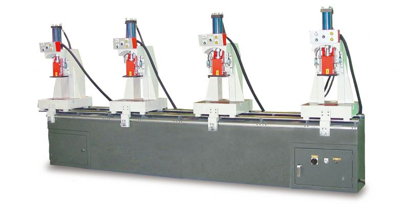 JIH-P4T  Four Head Hydraulic Press
