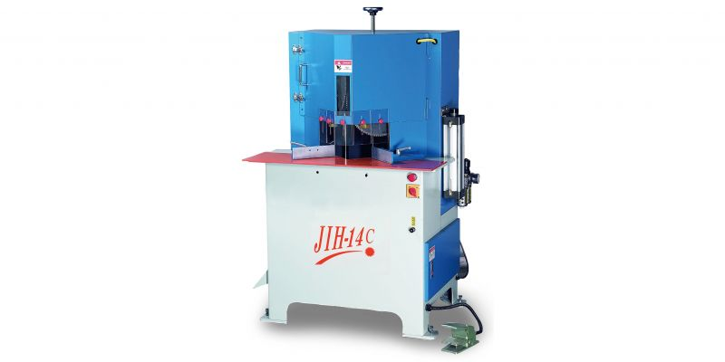 JIH - 14C 45° Double-Blade Angular Sawing Machine